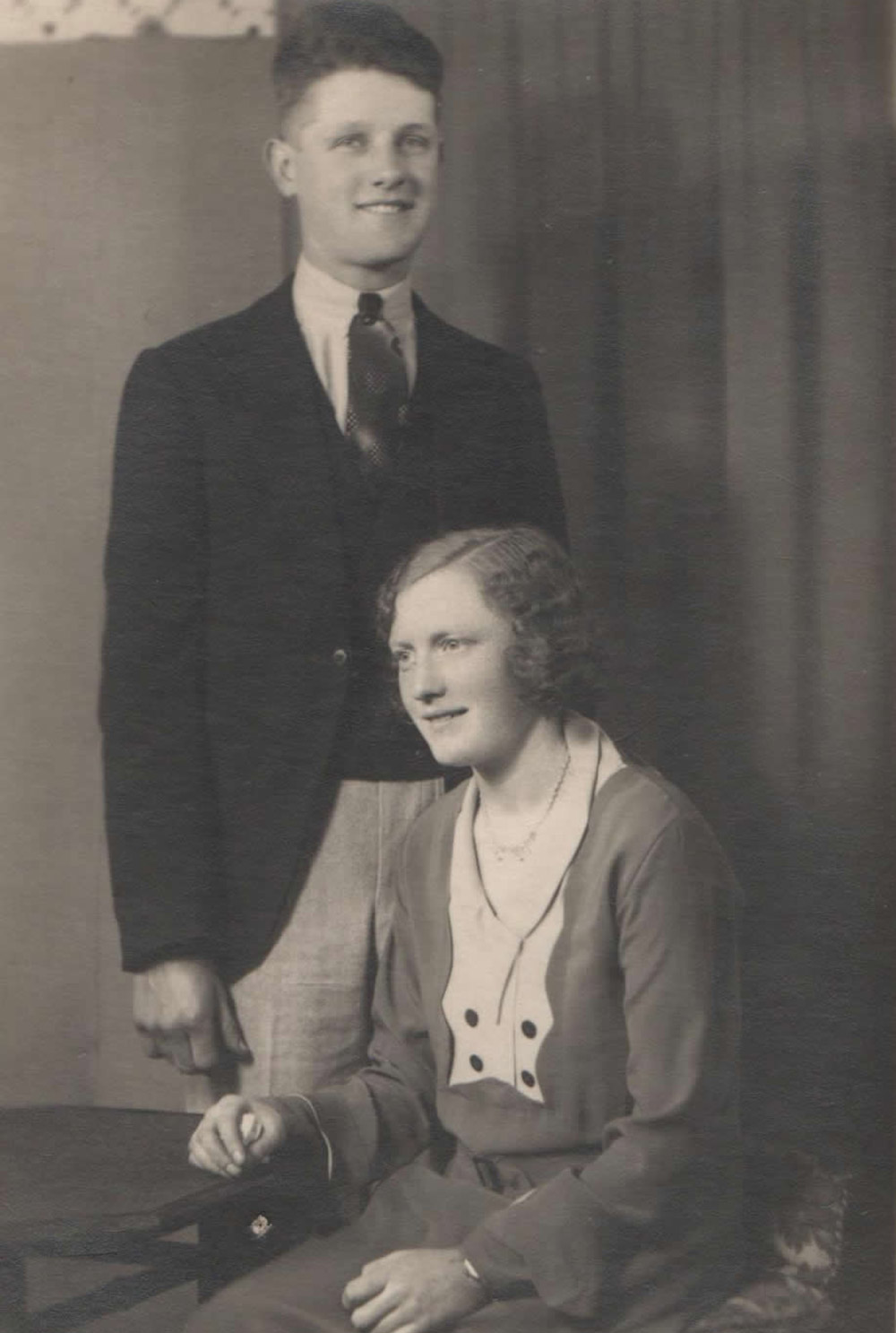 Alfred G Locke and his wife Mabel