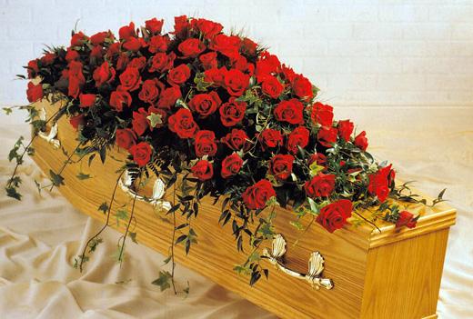 Floral Coffins