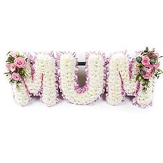 Flower Lettering Tribute