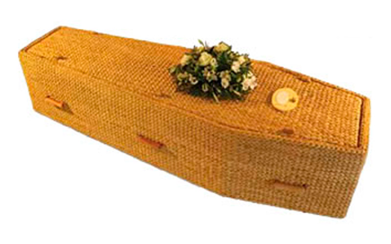 Water Hyancinth Coffin