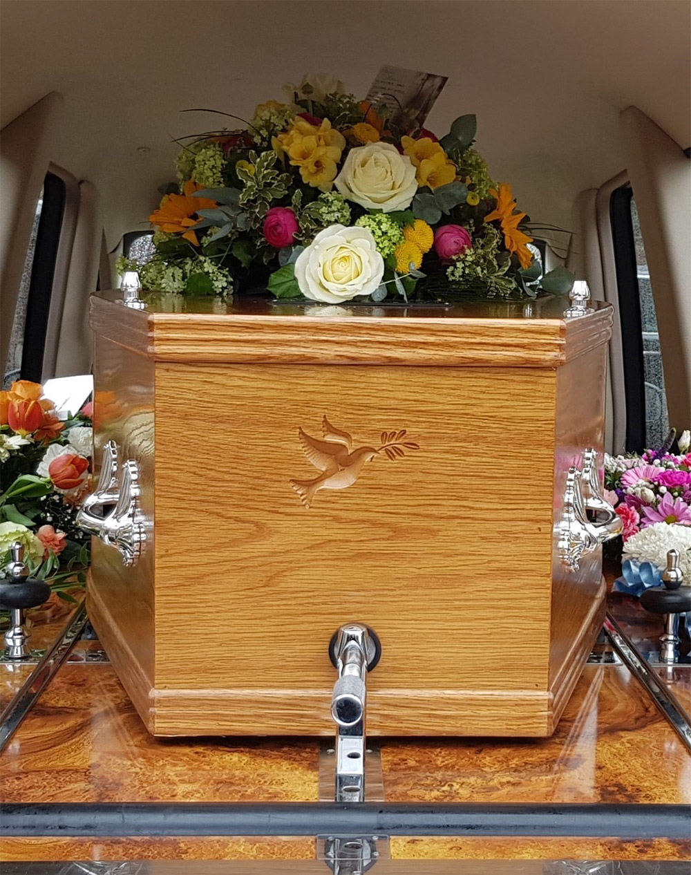 Our signature coffin